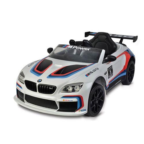 2735_Mini_Veiculo_Eletrico_com_Controle_Remoto_12V_BMW_M6_GT3_Branco_Bandeirante