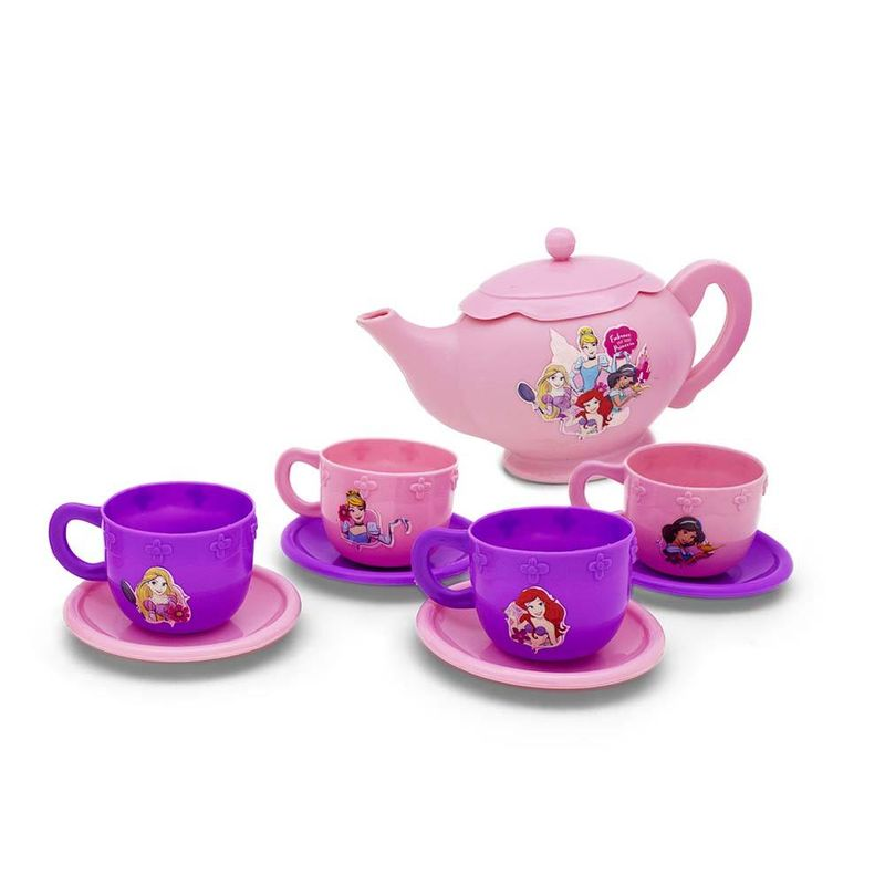 38488_Jogo_de_Cha_Infantil_10_Pecas_Rosa_Princesas_Disney_Toyng_1