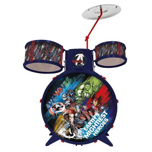 34473_Bateria_Acustica_Musical_Infantil_Vingadores_Marvel_Toyng_1