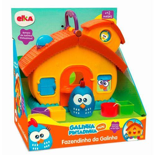 1088_Brinquedo_de_Encaixar_Fazendinha_da_Galinha_Pintadinha_Mini_Elka