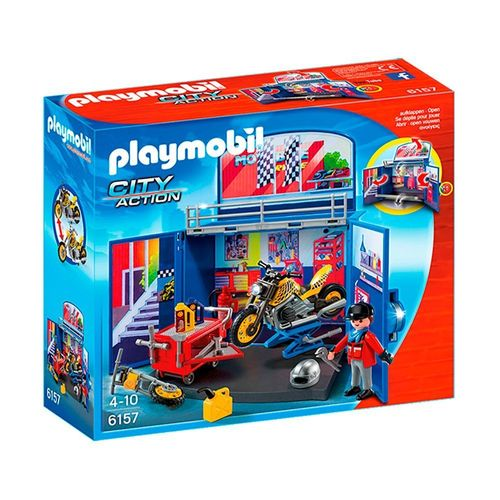 1188_Playmobil_City_Action_Oficina_Secreta_com_Moto_6157_Sunny_1