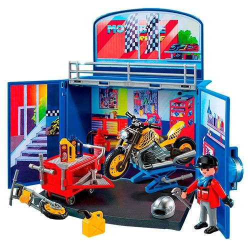 1188_Playmobil_City_Action_Oficina_Secreta_com_Moto_6157_Sunny_2