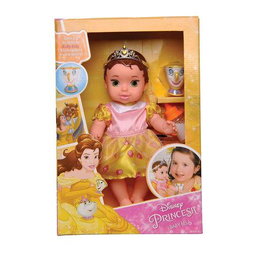 6424_Boneca_Bebe_Princesas_Disney_Baby_Bela_com_Pet_e_Mamadeira_Mimo_2