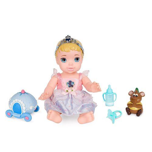 6511_Boneca_Minha_Primeira_Princesa_Real_Cinderela_com_Pet_e_Acessorios_Luxo_30_cm_Disney_Mimo
