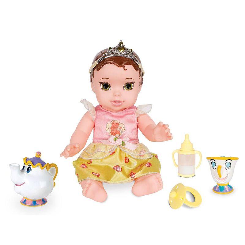 6513_Boneca_Minha_Primeira_Princesa_Real_Bela_com_Pet_e_Acessorios_Luxo_30_cm_Disney_Mimo