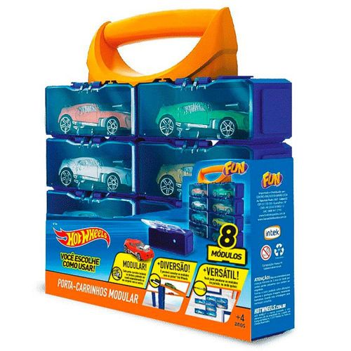 8170-0_Porta_Carrinhos_Modular_com_8_Lugares_Hot_Wheels_Fun