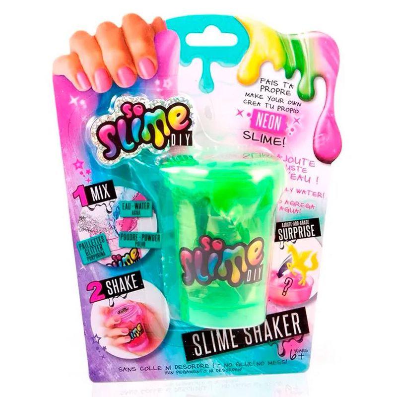 Pote_de_Slime_com_Acessorios_e_Adesivos_Shaker_Colors_Verde_Neon_Fun