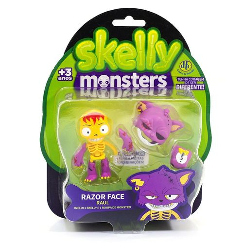 5041_Figura_Skelly_Monsters_Raul_e_Razor_Face_DTC_1