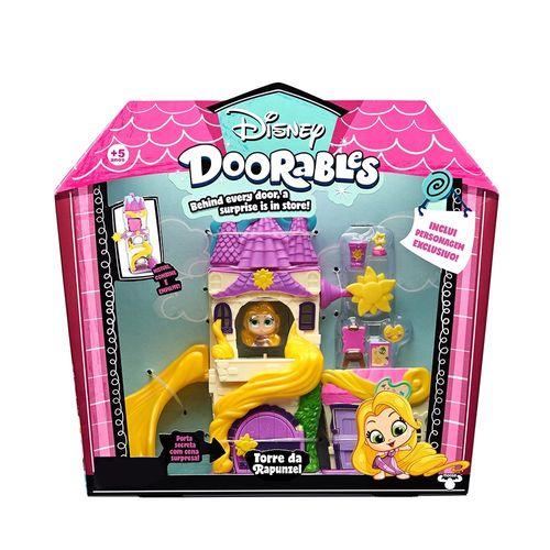 5085_Playset_com_Mini_Figura_Torre_da_Rapunzel_Disney_Doorables_DTC