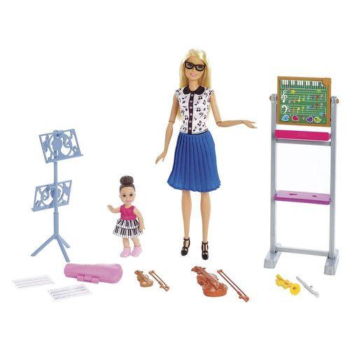 DHB63_Boneca_Barbie_com_Acessorios_Profissoes_Barbie_Professora_de_Musica_Mattel_1