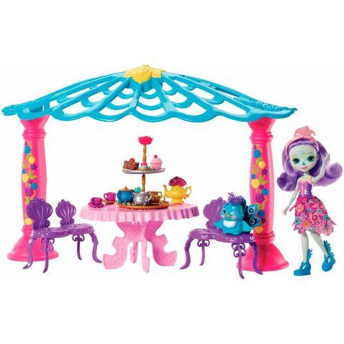 FRH49_Playset_e_Boneca_Enchantimals_Patter_Peacock_e_Quiosque_Mattel_2