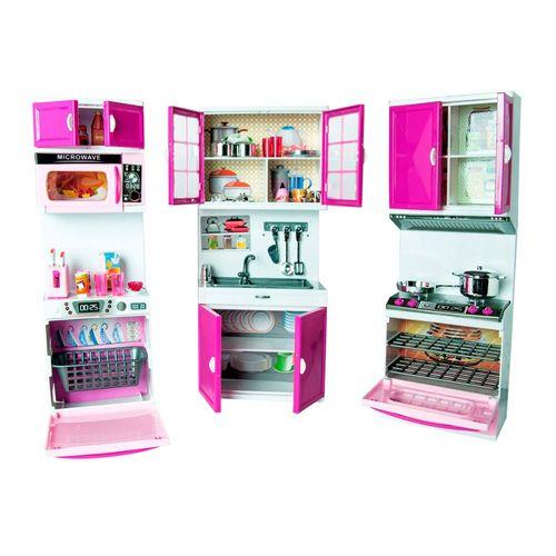 087896_Conjunto_de_Mini_Cozinha_Infantil_Rosa_My_Happy_Kitchen_Com_Luz_e_Som_Yes_Toys_2