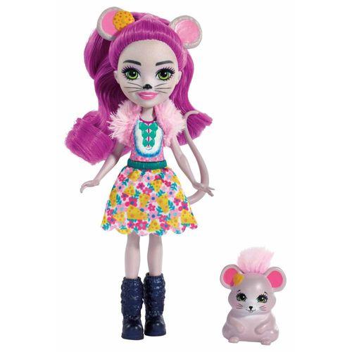 FNH22_Boneca_com_Pet_Enchantimals_Mayla_Mouse_e_Fondue_Mattel_1