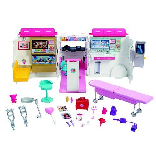 FRM19_Ambulancia_e_Hospital_da_Barbie_Mattel_1