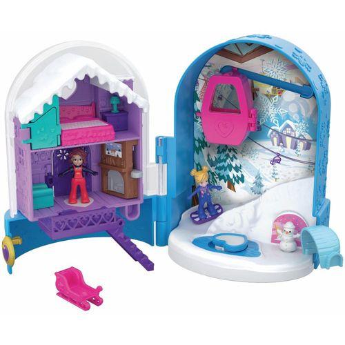 FRY35_Polly_Pocket_Mini_Mundo_de_Aventura_Bola_de_Neve_Surpresa_Mattel_1