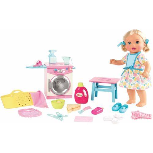 FLC04_Boneca_Little_Mommy_Hora_de_Comer_e_Lavar_Mattel_1