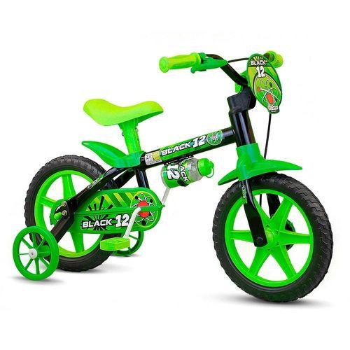 100010160022_Bicicleta_Infantil_Aro_12_Black_12_Menino_Preta_e_Verde_Nathor_1