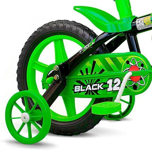 100010160022_Bicicleta_Infantil_Aro_12_Black_12_Menino_Preta_e_Verde_Nathor_2