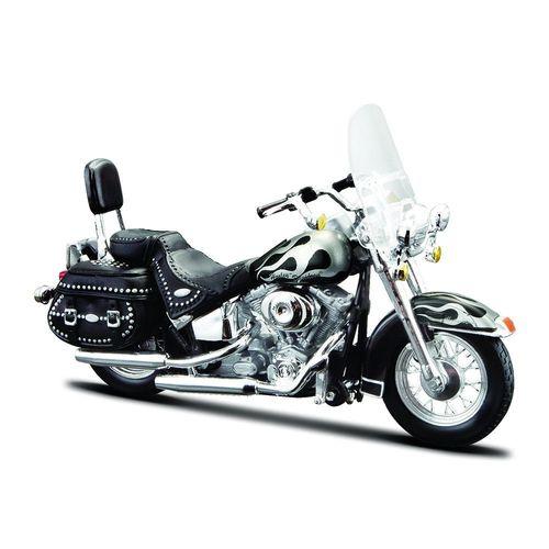 31360_Miniatura_Colecionavel_Harley-Davidson_1_18_2002_FLSTC_Heritage_Softail_Classic_Maisto