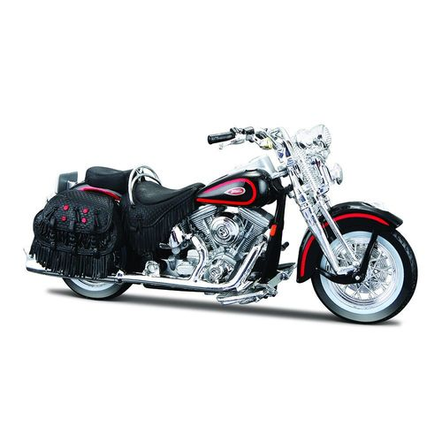 31360_Miniatura_Colecionavel_Harley-Davidson_1_18_1999_FLSTS_Heritage_Softail_Springer_Maisto