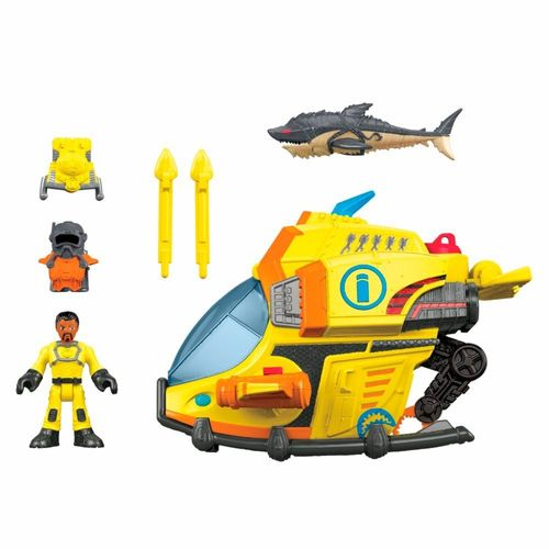 DFX95_Veiculo_com_Figura_Imaginext_Submarino_das_Profundezas_Fisher-Price_1