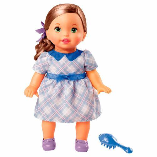 FLB80_Boneca_Little_Mommy_Doce_Bebe_Morena_Vestido_Azul_com_Laco_Mattel_1