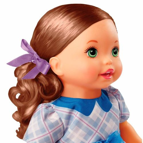 FLB80_Boneca_Little_Mommy_Doce_Bebe_Morena_Vestido_Azul_com_Laco_Mattel_2