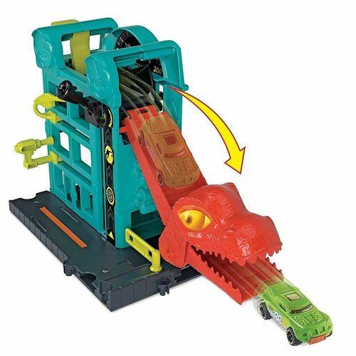 FMY95_Conjunto_Basico_com_Carrinho_Hot_Wheels_Fuga_do_Dino_na_Oficina_Mattel_2