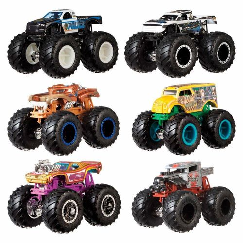 FYJ64_Conjunto_com_2_Carrinhos_Hot_Wheels_Monster_Trucks_Demolition_Doubles_Sortido_Mattel_1