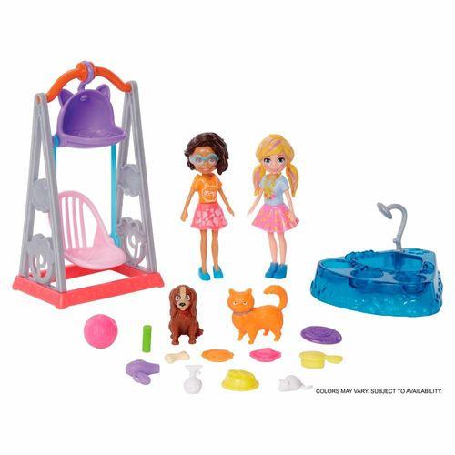 GFR06_Boneca_Polly_Pocket_Polly_Hora_de_Brincar_Balanco_Pet_Mattel_1