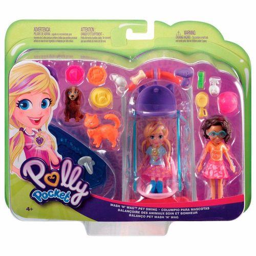 GFR06_Boneca_Polly_Pocket_Polly_Hora_de_Brincar_Balanco_Pet_Mattel_2