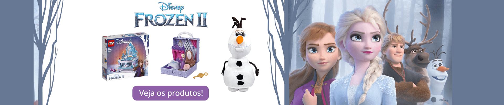 Banner Lançamento Frozen 2