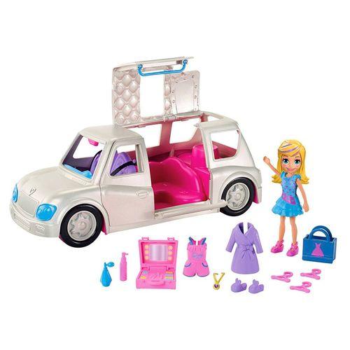 GDM19_Mini_Boneca_Polly_Pocket_Polly_com_Veiculo_Limousine_Fashion_Mattel_1