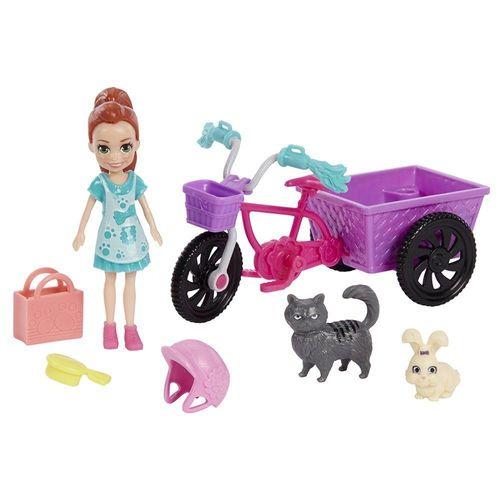 GFR03_Polly_Pocket_Bicicleta_Aventura_com_Bichinho_Sortido_Mattel_1