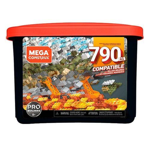 GJD26_Blocos_de_Montar_Mega_Construx_Pro_Builders_790_Pecas_Mattel_1