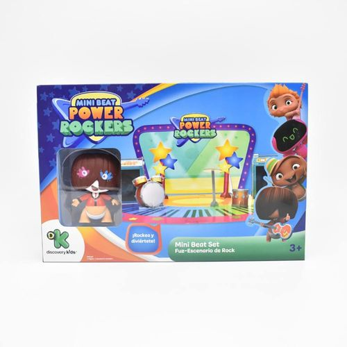 BR995_Mini_Figura_com_Cenario_3D_Mini_Beat_Power_Rockers_Fuz_Multikids_1