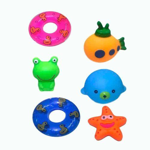 10016_Brinquedo_de_Banho_Amiguinhos_do_Banho_5_Pecas_Sortidas_Soft_Baby_Yes_Toys_3