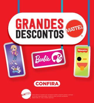 Grandes Descontos Mattel