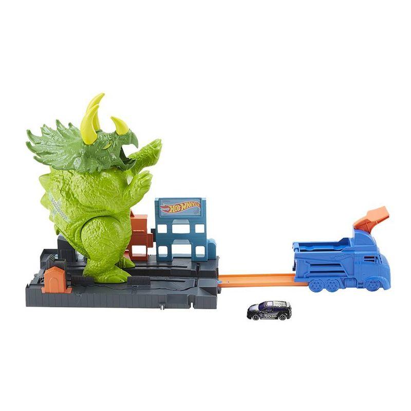 GBF97_Pista_Hot_Wheels_City_Ataque_de_Triceratops_Mattel_1