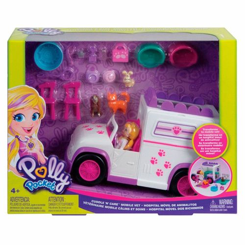 GFR04_Mini_Boneca_Polly_Pocket_Hospital_Movel_dos_Bichinhos_Mattel_6