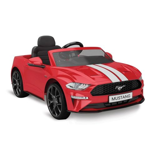 2633_Mini_Veiculo_Eletrico_com_Controle_Remoto_12V_Ford_Mustang_Vermelho_Bandeirante