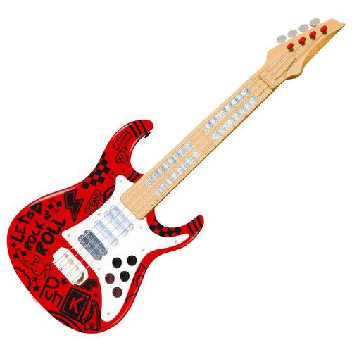 37597_Guitarra_Eletrica_Infantil_Show_Vermelha_Toyng_1