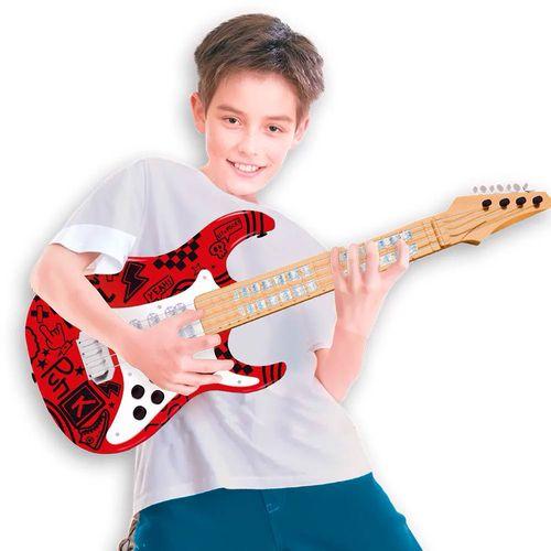 37597_Guitarra_Eletrica_Infantil_Show_Vermelha_Toyng_3