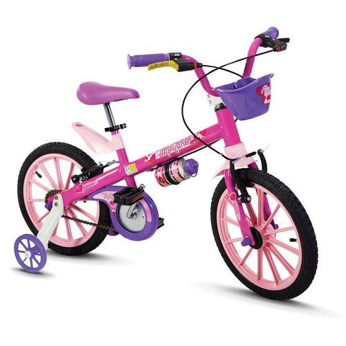 100130160010_Bicicleta_Infantil_Aro_16_Top_Girls_Menina_Rosa_Nathor_1