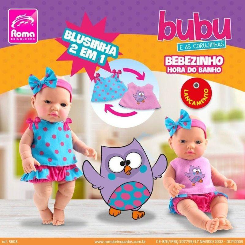 5605_Boneca_Bebe_Bubu_e_as_Corujinhas_Hora_do_Banho_Roma_1