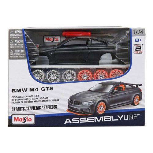 39900_Kit_de_Montagem_Assembly_Line_Colecionavel_BMW_M4_GTs_Preto_1_24_Maisto_2