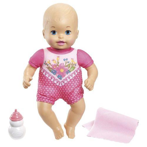 FJL45_Boneca_Little_Mommy_Recem-Nascidos_Roupa_Rosa_com_Flores_Mattel_1