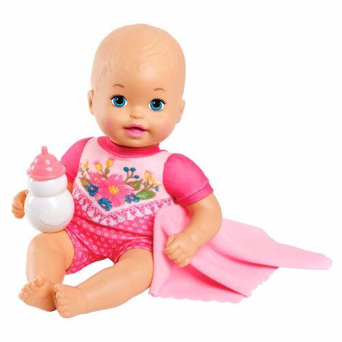 FJL45_Boneca_Little_Mommy_Recem-Nascidos_Roupa_Rosa_com_Flores_Mattel_5