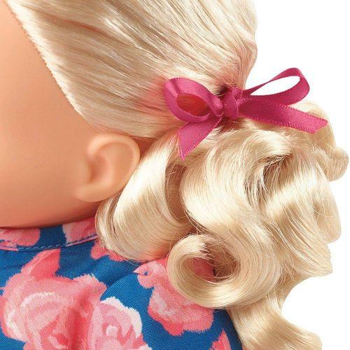 FLB80_Boneca_Little_Mommy_Doce_Bebe_Loira_Vestido_Azul_de_Laco_Mattel_2