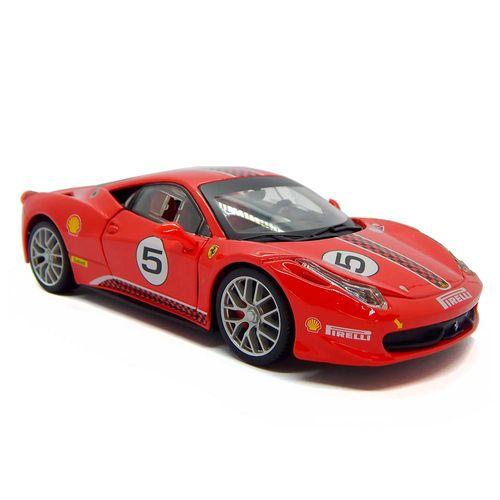 2600_Replica_Colecionavel_Ferrari_Racing_458_Challenge_1_24_Vermelho_Burago_1